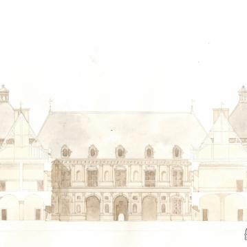 Château d'Ancy-le-Franc/Coupe