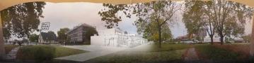 CSC Port du Rhin/ Perspective