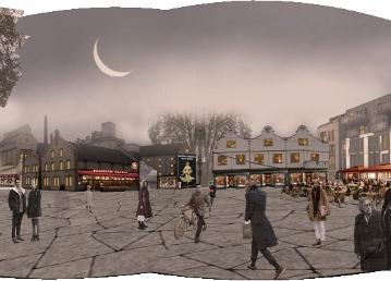 Urbanisme à Schillick/ Perspective friche Schtutzenberger