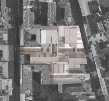 PFE Budapest/ Plan masse