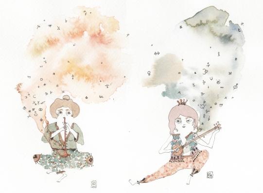 2016 Les deux musiciens