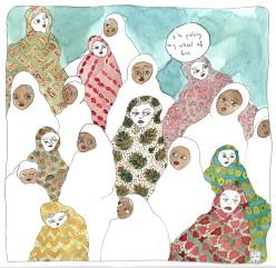 2017_Aniramsky_Les femmes et leurs voiles