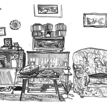 The Russian Living Room
