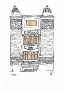 2019 Anir Amsky Façades d'Europe centrale Odessa 02