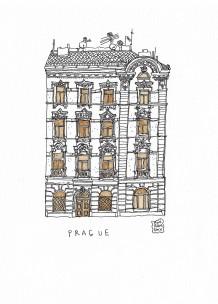 2019 Anir Amsky Façades d'Europe centrale Prague 01