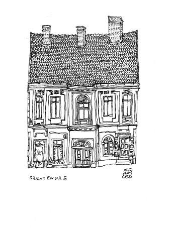 2019 Anir Amsky Façades d'Europe centrale Szentendre 01